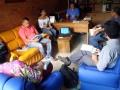 Equipo DESAFIO en reunión con el Gerente de EMQUILICHAO y su equipo