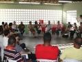 Visita a Mustardinha 8, reunión con miembros de la asociación