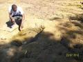 Cachimba cavada por residentes, comunidad de Lagedo, São Francisco, MG