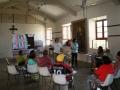 Diálogos con representantes de la comunidad de Mustardinha 1