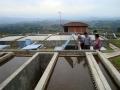 Visita do ministerio de água e saneamento à estação de água de Mondomo