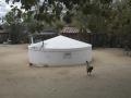 Cisterna em casa de morador