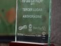 Premio recebido pela ASOVORÁGINE