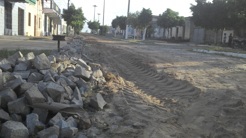 Obras de saneamento em Cascavél 1