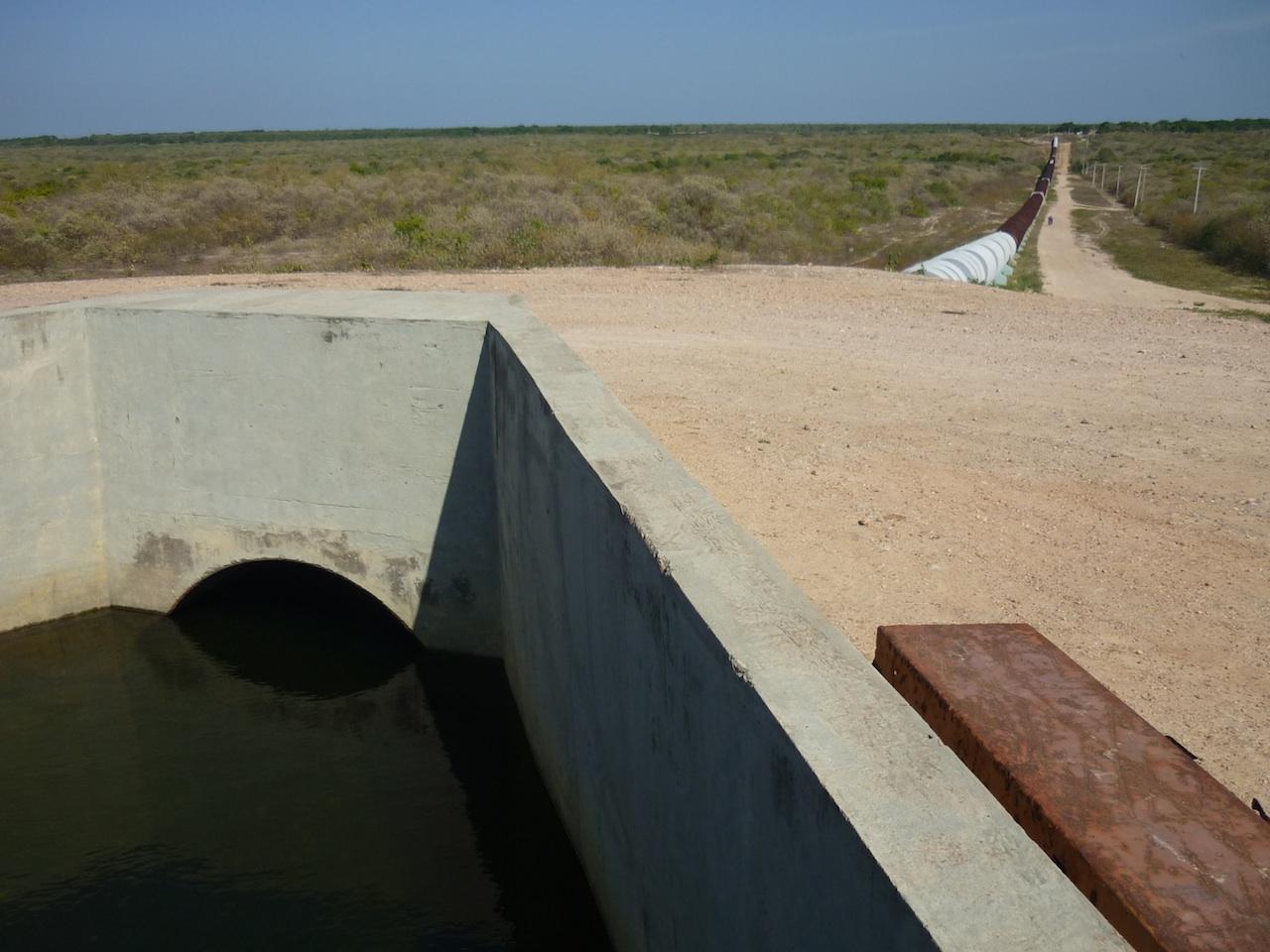 Canal do trabalhador 3, município de Cascavél, CE