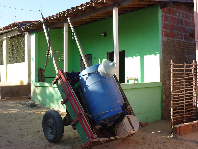 Carro pipa, município de Cascavél, CE