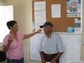 Visita à Comunidade Mustardinha 1, sede da associação de moradores