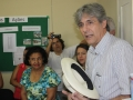 Visita à Comunidade Mustardinha 2, sede da associação de moradores
