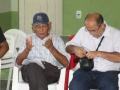 Visita à Comunidade Mustardinha 7, membro da associação de moradores
