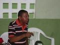 Visita à Comunidade Mustardinha 9, membro da associação de moradores