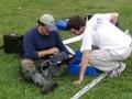 Fazendo trabalho de campo, Bacia do Rio Carcarañá 4