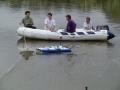 Fazendo trabalho de campo, Bacia do Rio Carcarañá 5