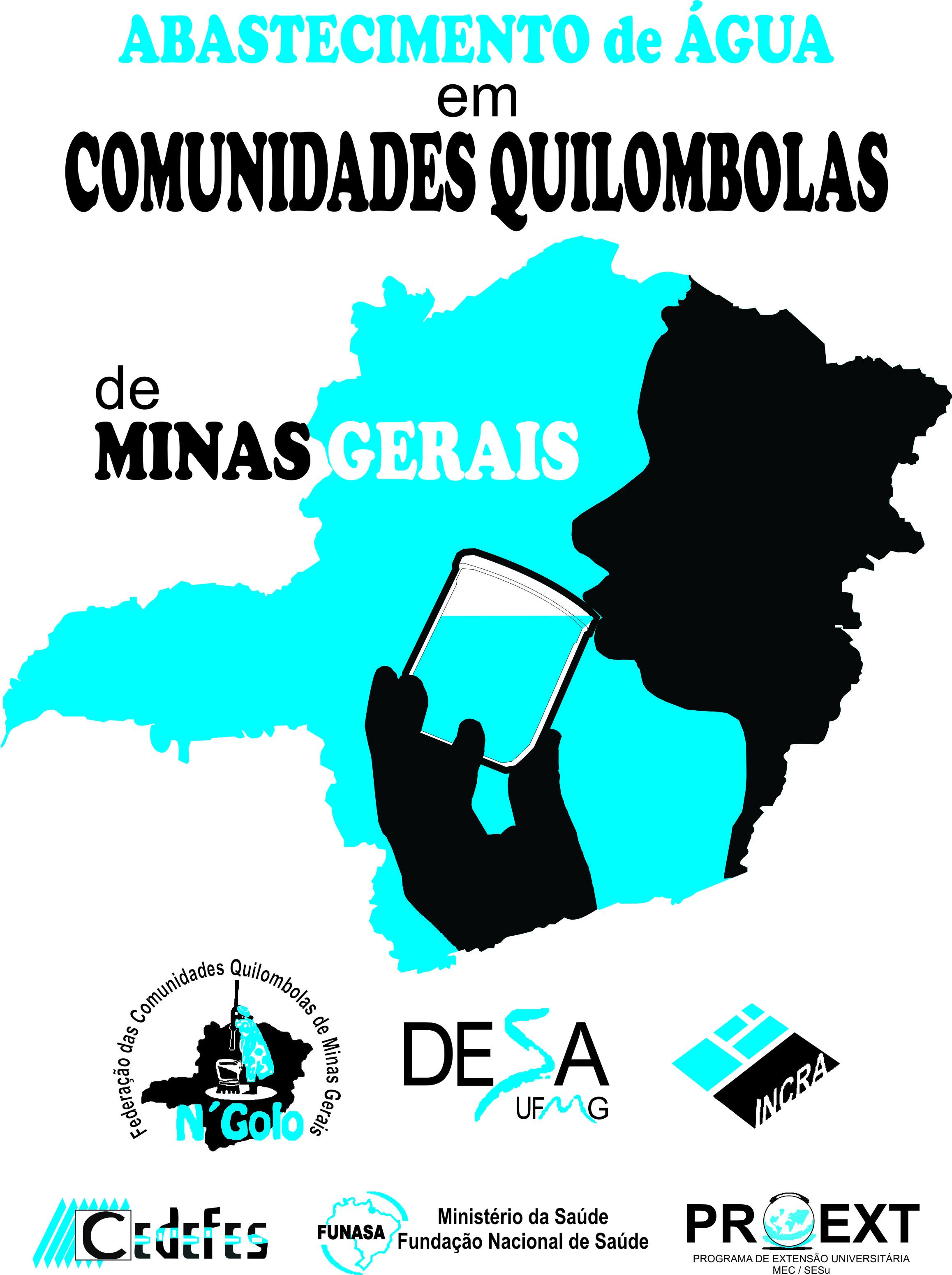 Logo do Projeto Quilombolas
