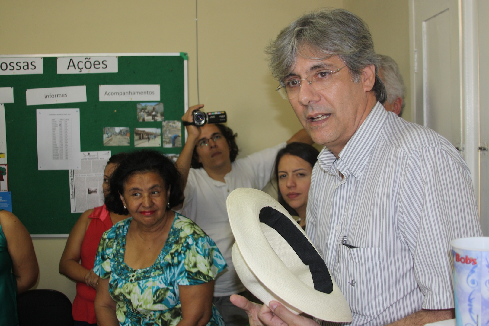 Visit to Mustardinha 2, site of the community's association