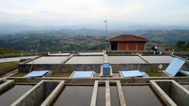 Mondomo's water treatment plant 1