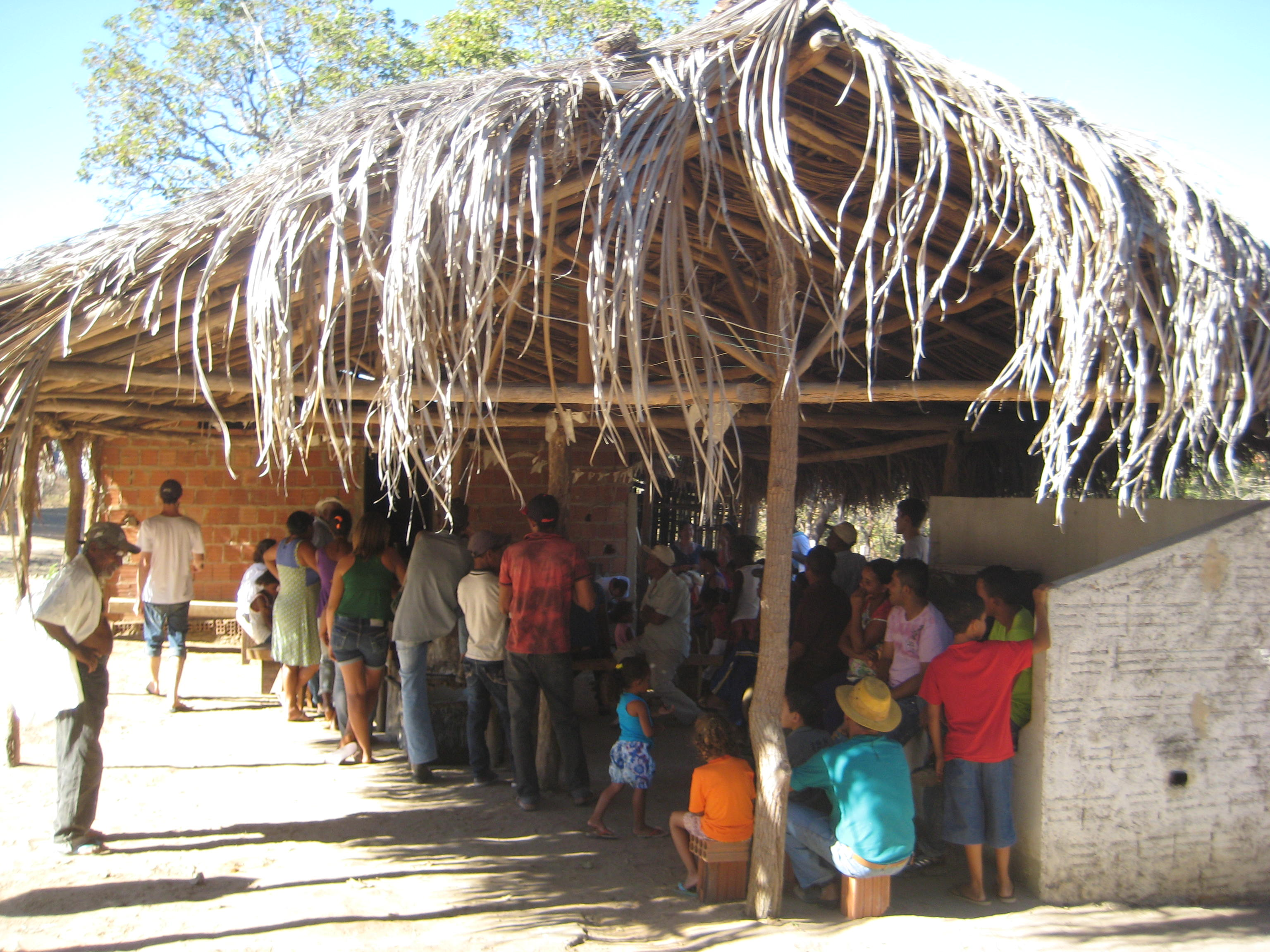 Lagedo's  community association, São Francisco, MG