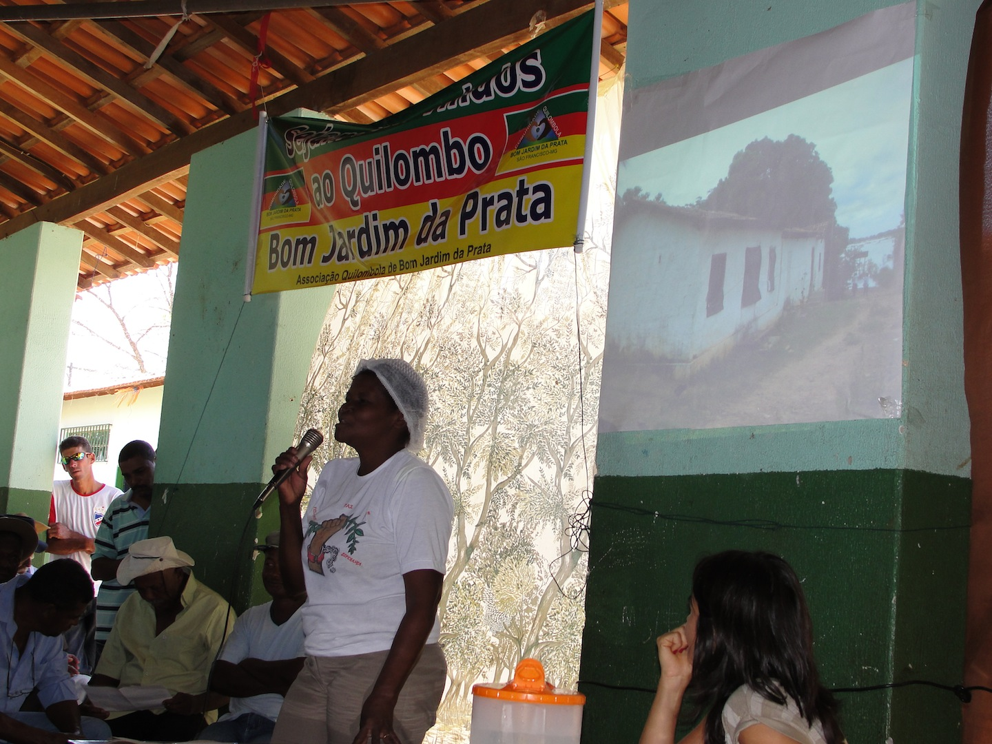 Meeting to approve geographical limits of Quilombo 4