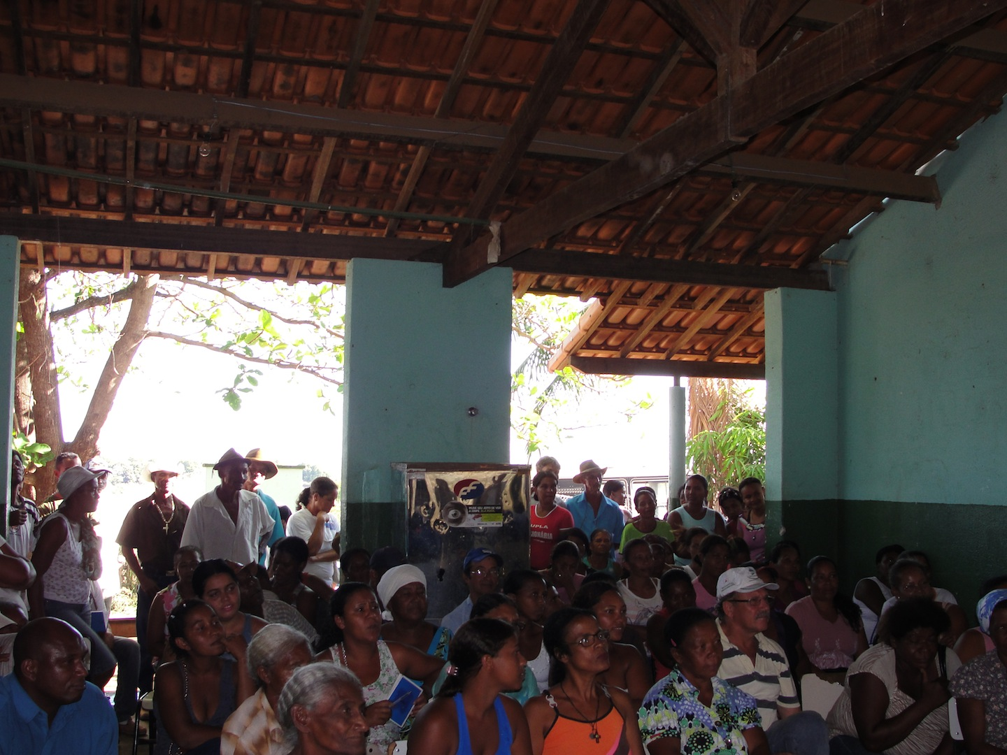 Meeting to approve geographical limits of Quilombo 5
