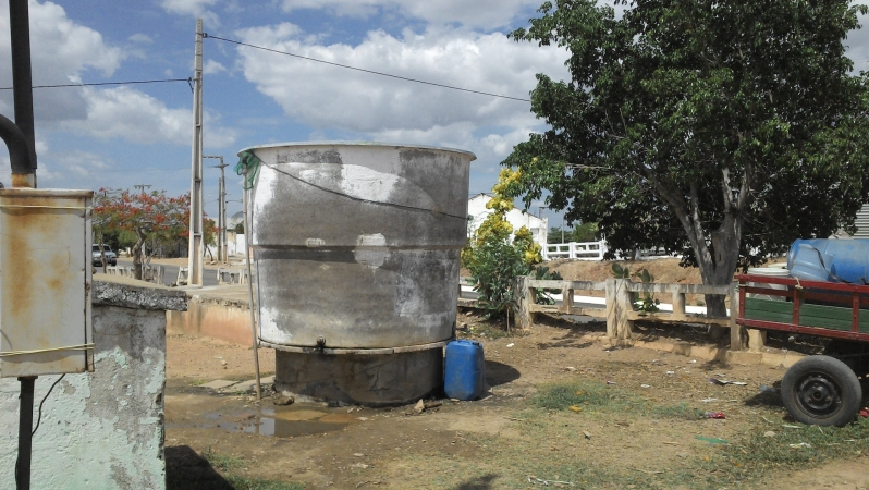 Water fountain in Ocara