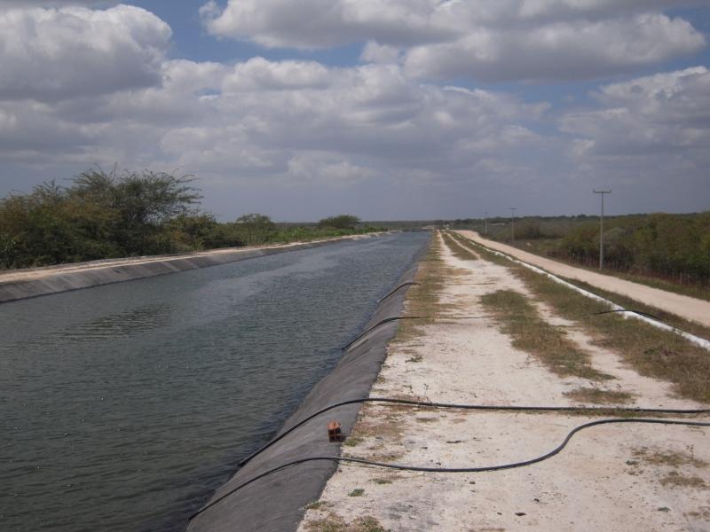 Canal do Trabalhador 1 (waterway), Cascavél, CE