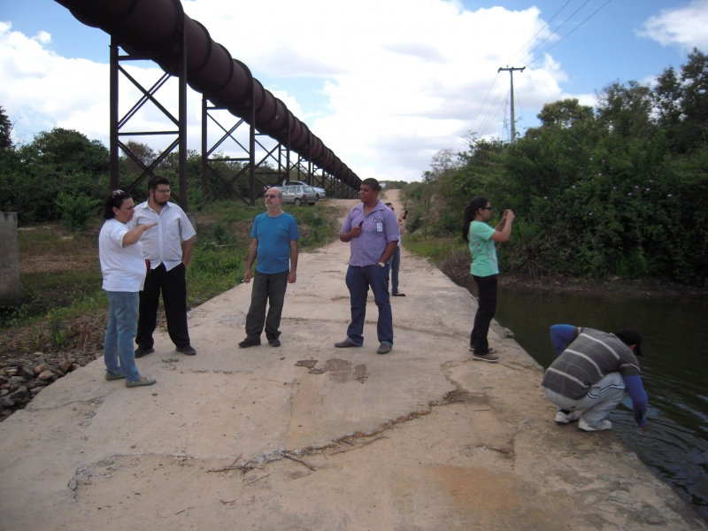 DESAFIO's team doing fieldwork