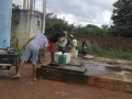 Residents of Cascavel collecting water at the public cistern 1