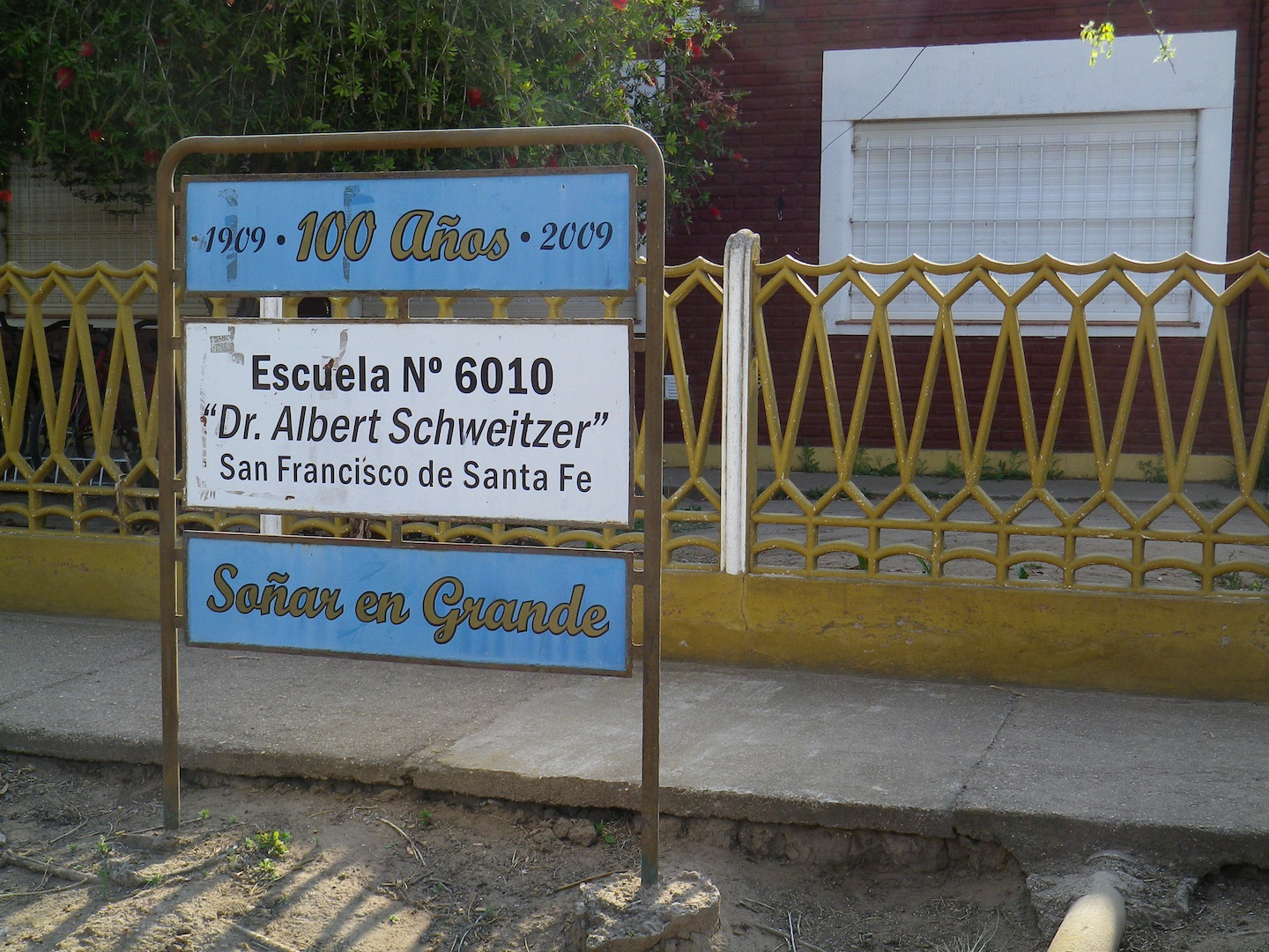 Partner school in the Santa Fe province